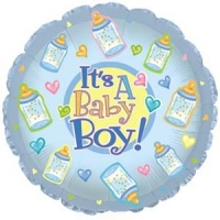 Baby Boy Balloon - Click to enlarge picture.