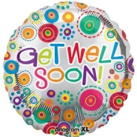 Get Well Soon Balloon - Click to enlarge picture.