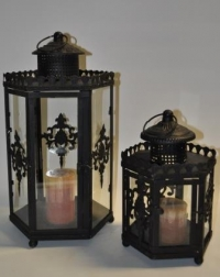 Small Hexagon Lantern - Click to enlarge picture.