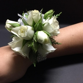 White rose bling